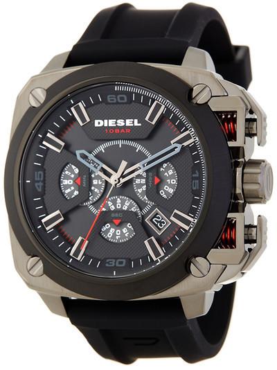 DieselDiesel Men&s BAMF Silicone Watch