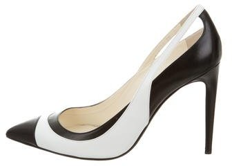 Ralph Lauren Collection Colorblock Pointed-Toe Pumps