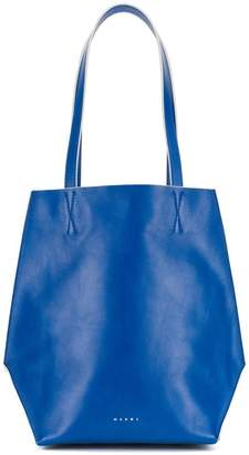 Marni top handle shopper tote