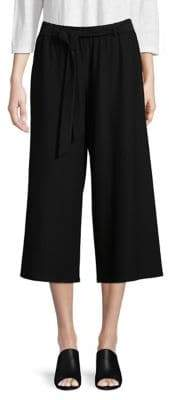 Eileen Fisher Wide Cropped Pants