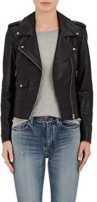 Barneys New York BARNEYS NEW YORK WOMEN'S LEATHER MOTO JACKET $795 thestylecure.com