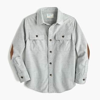J.Crew Boys' chamois shirt