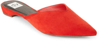 Dolce Vita Red Stella Pointed Toe Mules
