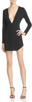 AQ/AQ Milla Plunge Mini Dress $170 thestylecure.com