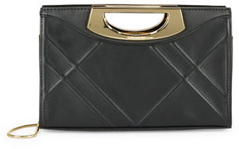 Calvin Klein Calvin Klein Shosh Geometric Patterned Clutch