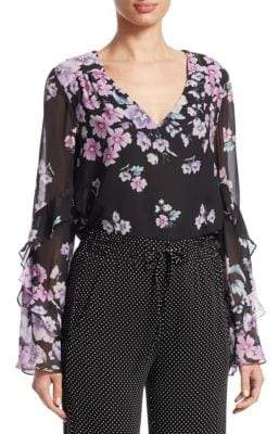 Nanette Lepore Zen Silk Blouse