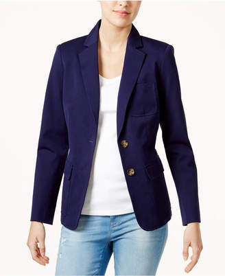 Tommy Hilfiger Two-Button Blazer, Created for Macy's $129.50 thestylecure.com