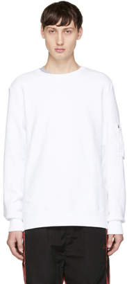 Tim Coppens White MA-1 Sweatshirt
