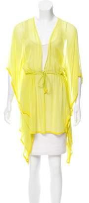 Calypso Silk Sheer Top