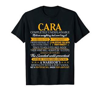 Cara Completely Unexplainable Shirt First Name Tee