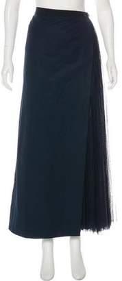 Chanel Woven Maxi Skirt