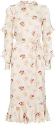 Needle & Thread Bessie Floral Print Dress