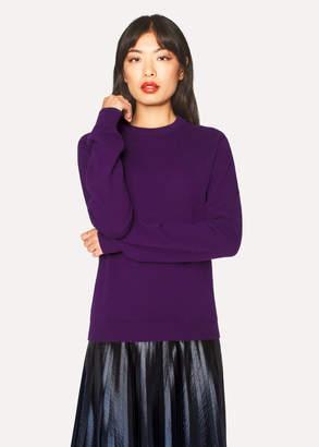 Paul Smith Women's Violet Cashmere Sweater