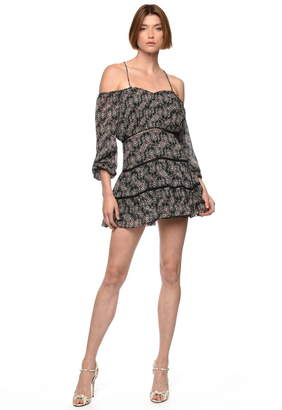 Karina Grimaldi Sissy Print Mini Dress