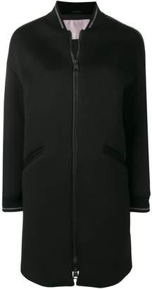 Herno stripe trim coat