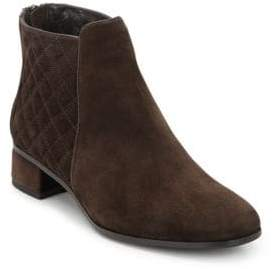 Aquatalia Laurel Suede Booties