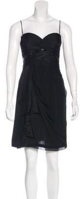 J. Mendel Silk Embellished Dress