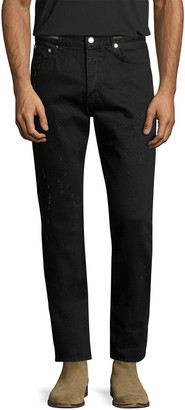 Givenchy Distressed Straight Leg Pant