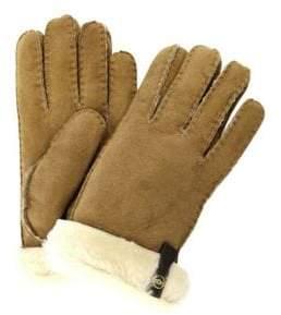 UGG Classic Sheepskin Leather Shearling Gloves