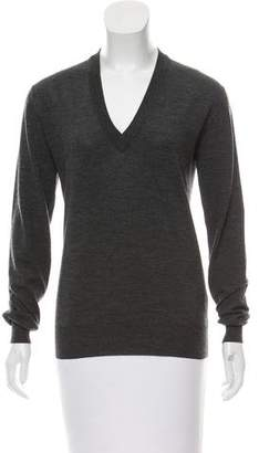 Dolce & Gabbana Long Sleeve Wool Sweater