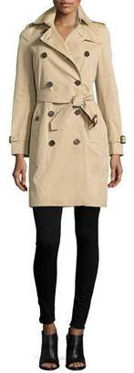 Burberry The Kensington - Long Heritage Trench Coat, Honey $1,895 thestylecure.com