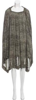 Stella McCartney Printed Silk Dress w/ Tags