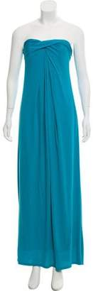 Halston Long Empire Waist Gown