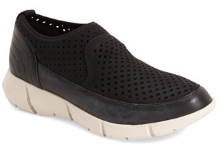 Women's Calvin Klein 'Werner' Perforated Slip-On Sneaker $98.95 thestylecure.com