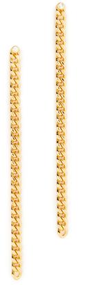 Jules Smith Bodhi Linear Drop Earrings $40 thestylecure.com