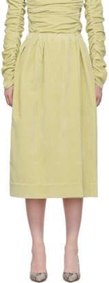 Lemaire Beige Elasticated Skirt