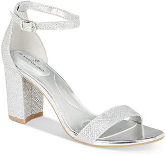 Bandolino Armory Two-Piece Block Heel Sandals Women's Shoes