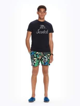 Scotch & Soda All-Over Printed Swim Shorts Medium length