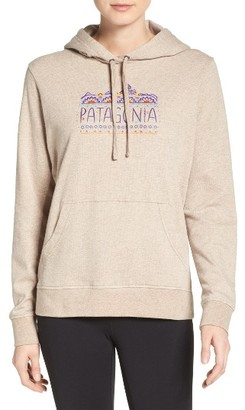 Women's Patagonia Femme Fitz Roy Hoodie $69 thestylecure.com