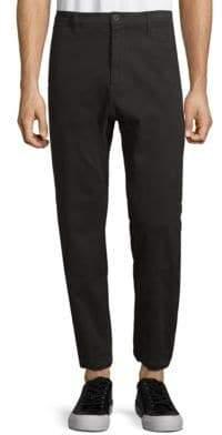 Helmut Lang Curved-Leg Track Pants