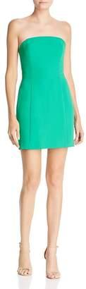 Amanda Uprichard Mandy Strapless Mini Dress