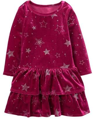Gymboree Star Velour Dress