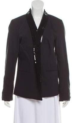 MICHAEL Michael Kors Sequin-Accented Blazer w/ Tags