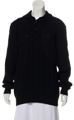 Kris Van Assche Wool Heavy Sweater