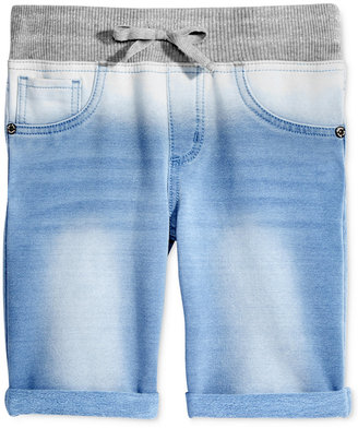 "Imperial Star 7"" Knit Ombre Bermuda Shorts, Big Girls (7-16) $34 thestylecure.com"