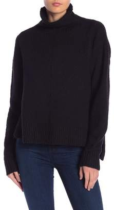Free Press Turtleneck Hi-Lo Sweater