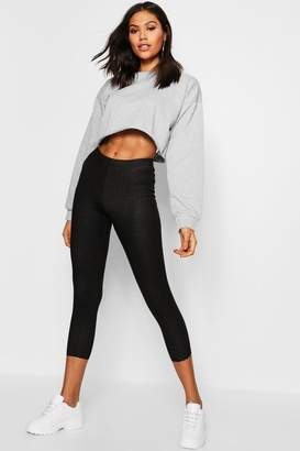 boohoo Cropped Jeggings