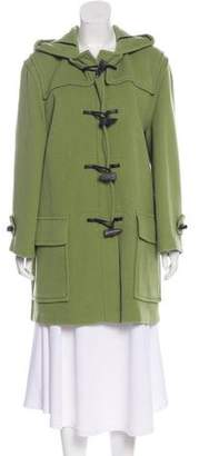 Burberry Wool Short Coat