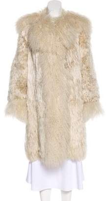 Marc Jacobs Knee-Length Alpaca Coat