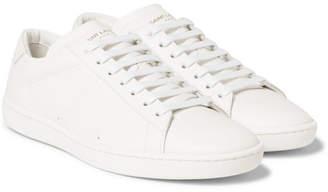 Saint Laurent SL/01 Leather Sneakers - Men - White