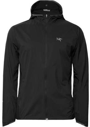 Arc'teryx Incendo Slim-Fit Mesh-Panelled Lumin Hooded Jacket