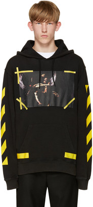 Off-White Black 7 Opere Hoodie $420 thestylecure.com