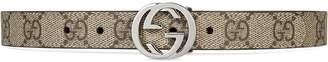 Gucci Kids Children's GG Supreme belt
