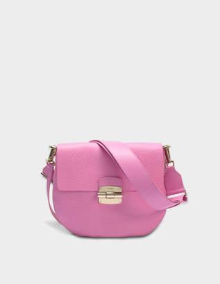 44c6d35738de Furla Club S Crossbody Bag in Orchid Nirvana Leather