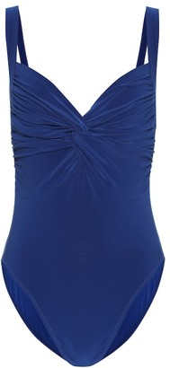 Norma Kamali Twist Mio one-piece swimsuit