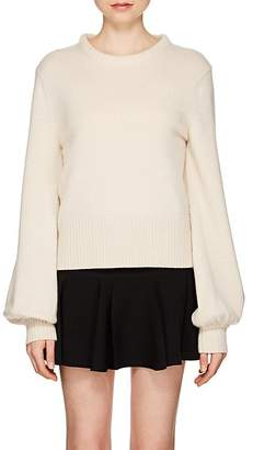 Chloé Women's Wide-Sleeve Stockinette-Stitched Cashmere Sweater